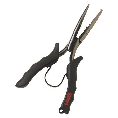 "Rapala Stainless Steel Pliers - Black (6 1/2"")"