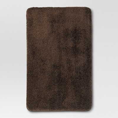 "Threshold™ Performance Bath Rug - Dark Brown (20x32"")"