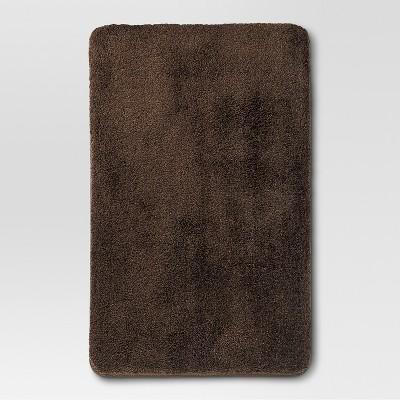 "Threshold™ Performance Bath Rug - Dark Brown (20x32"")"