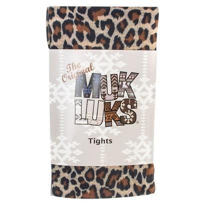 MUK LUKS® Women's Print Tights - Leopard