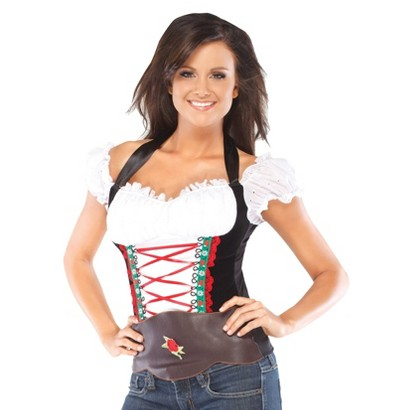 Women's Beer Girl Bustier Costume