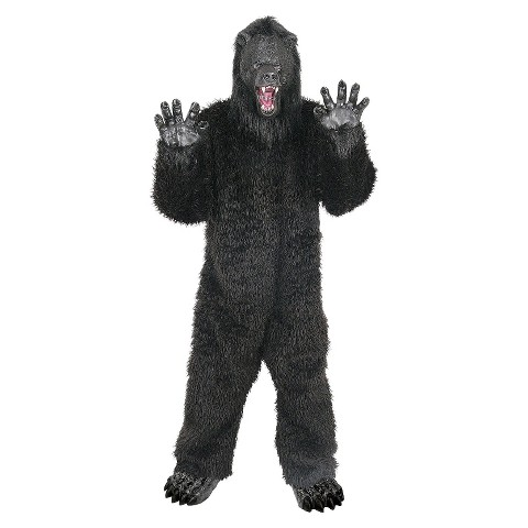 Adult Grizzly Bear Costume - One Size Fits Most