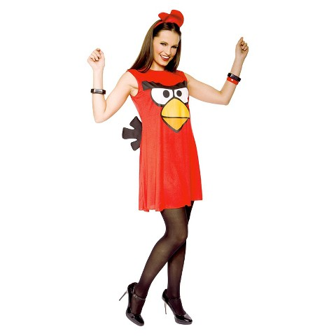 Women's Angry Birds Sassy Costume
