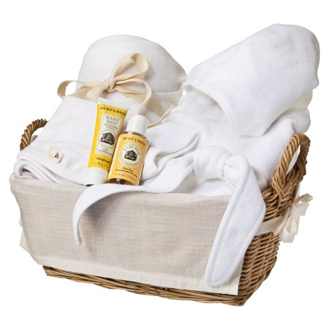 Burt's Bees Baby Organic Better Bathtime Basket - Cloud