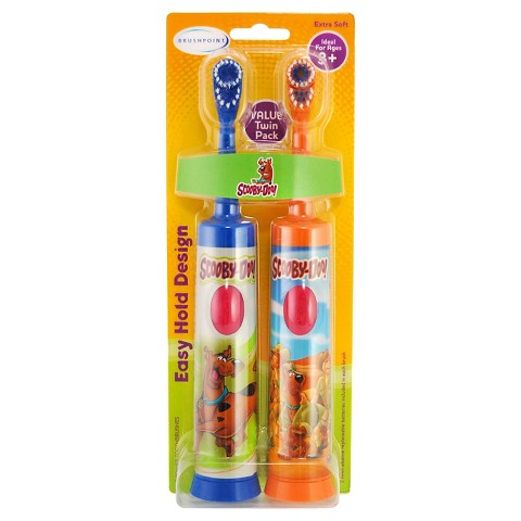Brushpoint Scooby Doo Battery Twin Pack