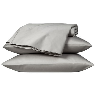 Egyptian Cotton 800 Thread Count Sheet Set - Gray (Queen) - Fieldcrest™