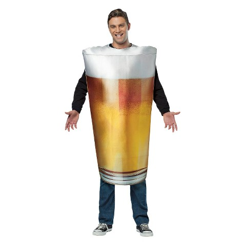 Adult Pint Glass Costume - One Size Fits Most