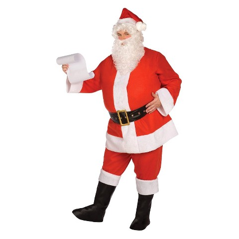 Complete Santa Suit Costume - Plus  Size