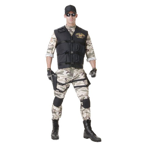 Men's Seal Team Costume OSFM
