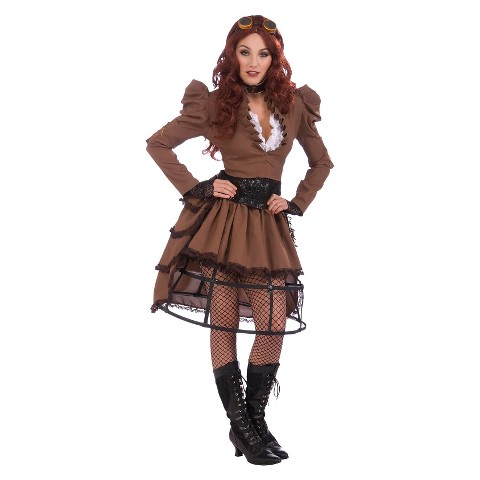 Women's Steampunk Vicky Costume - One Size Fits Most
