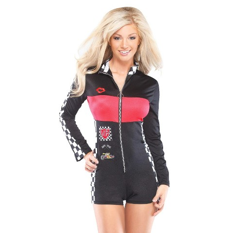 Women's Racer Girl Costume - One Size Fits Most