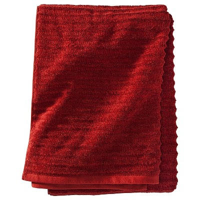 Threshold™ Bath Sheet - Salsa Red