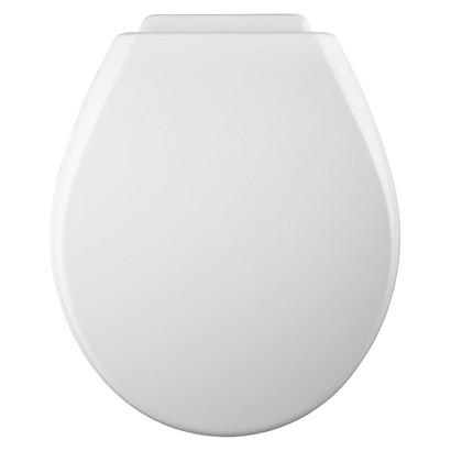 Round XCITE!® Molded Wood Toilet Seat - White