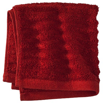 Threshold™ Washcloth - Salsa Red