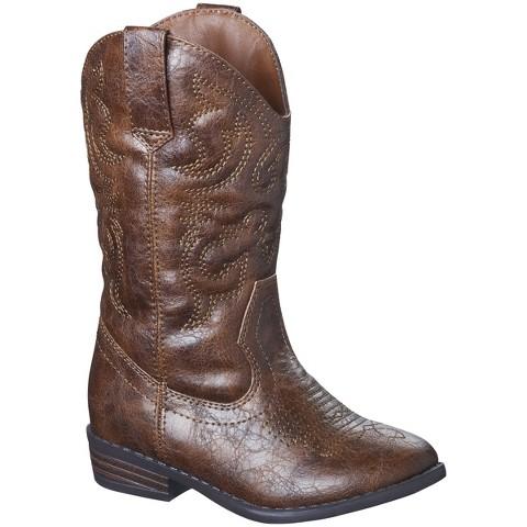 Toddler Girl's Cherokee® Gregoria Cowboy Boot - Assorted Colors