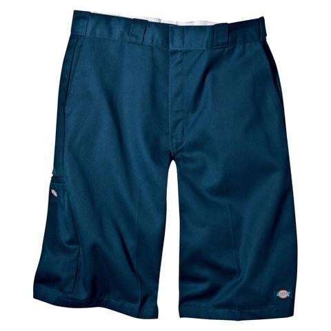 """Dickies® - Men's Big & Tall Loose Fit Twill 13"""" Multi-Pocket Work Shorts"""