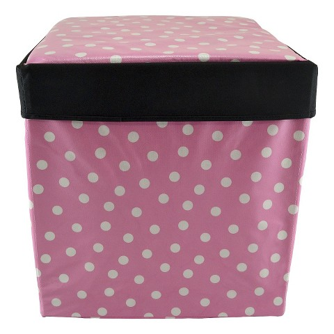 Tango Home 2-pc. Decorative Box - Pink Polka Dot