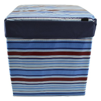 Tango Home 2-pc. Cubby Cube - Blue Boy Stripe