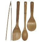 Keilen 4 Piece Burnished Bamboo Tool Set