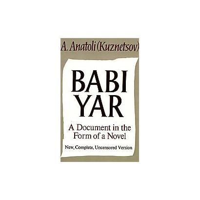 Babi Yar (Paperback)