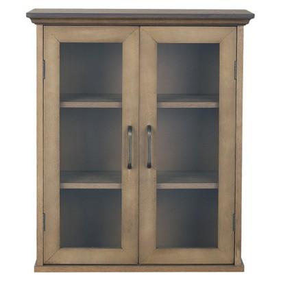 Peyton Wall Cabinet - Weathered Wood