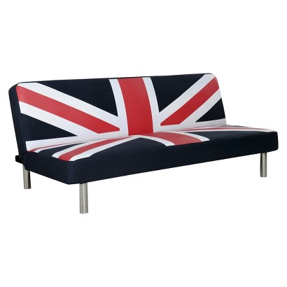 Union Jack Futon - Blue