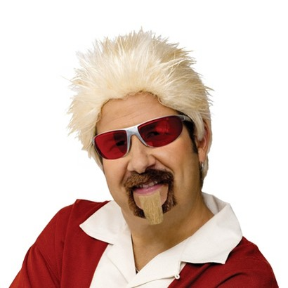 Adult Celebrity Chef Wig and Goatee - One Size Fits Most