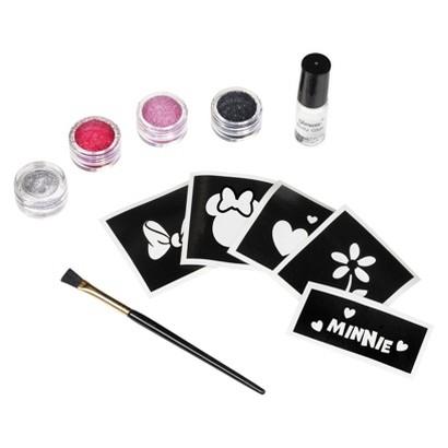 Child Disney Minnie Mouse Glitter Tattoo Kit - One Size Fits Most