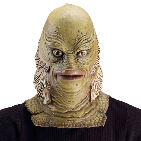 Adult Universal Monster Collector's Edition Creature From the Lagoon Mask - One Size Fits Most