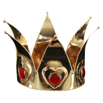 Adult Mini Queen of Hearts Crown - One Size Fits Most
