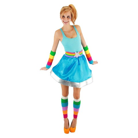 Adult Rainbow Brite Arm and Leg Warmers - One Size Fits Most
