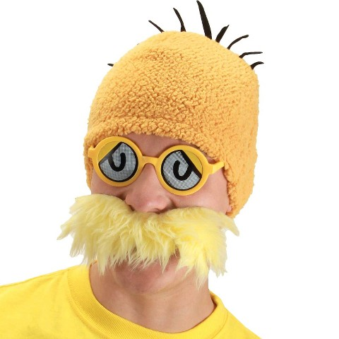 Adult Dr. Seuss Lorax Accessory Kit - One Size Fits Most