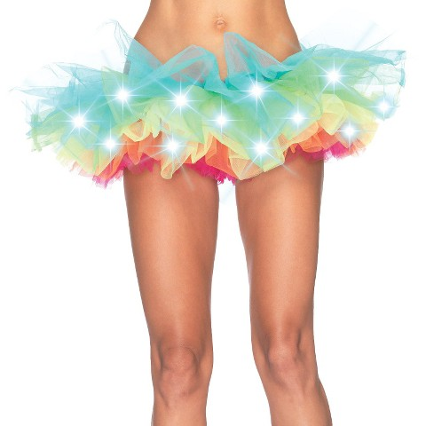 Adult Light Up Rainbow Tutu - One Size Fits Most