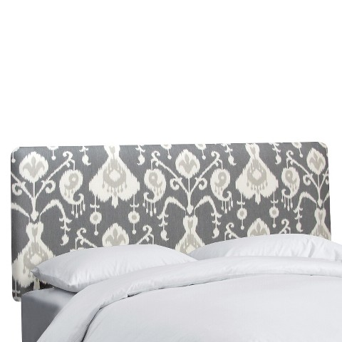 Ikat Headboard - Grey