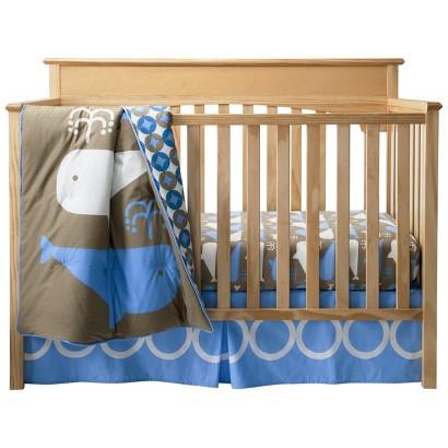 Room 365™ Whales 3pc Crib Bedding Set
