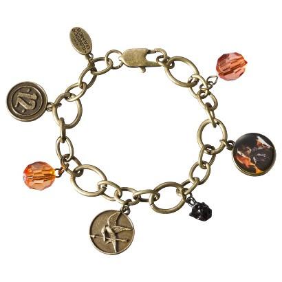 The Hunger Games Katniss District 12 Charm Bracelet