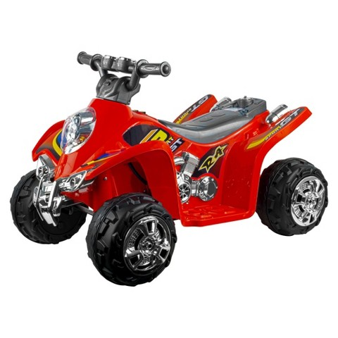 Lil' Rider Ruckus GT Sport Battery Operated ATV - Red