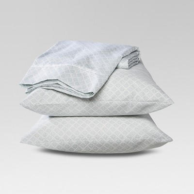 Threshold™ Performance Sheet Set - Blue Global (Queen)