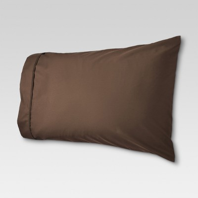 Threshold™ Performance 400 Thread Count Pillowcase Set Brown - (Standard/Full)