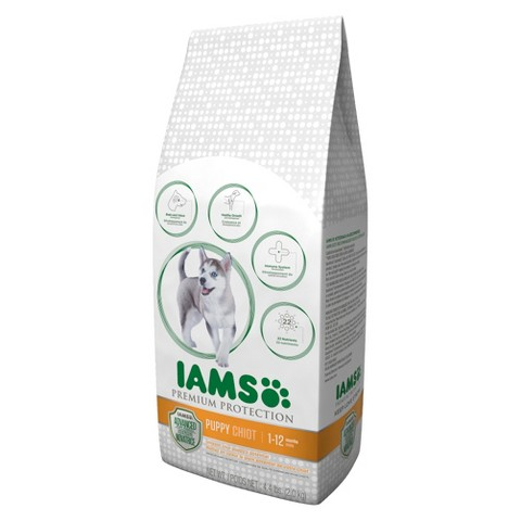 Iams Premium Protection Dry Puppy Food 4.4 lbs