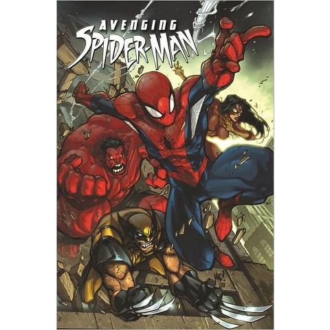 Avenging Spider-Man by Zeb Wells & Joe Madureira (Illustrator)(Hardcover)
