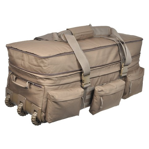 Sandpiper of California Rolling Loadout Bag - Coyote Brown (X-Large)