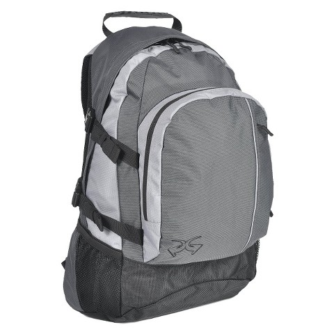 PiperGear Enzo Backpack - Black/Light Gray