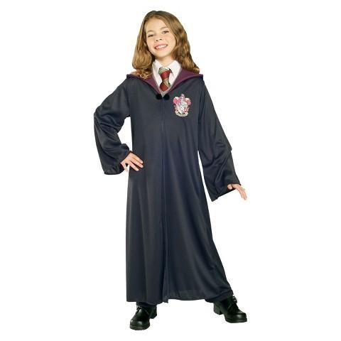 Kid's Harry Potter Gryffindor Robe Costume