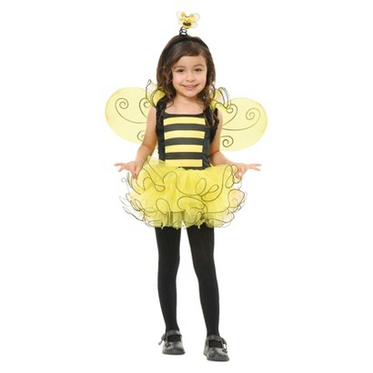 Toddler Sweet Bee Costume 2T-4T