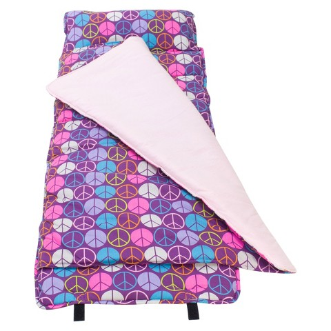 Wildkin Peace Signs Nap Mat - Purple