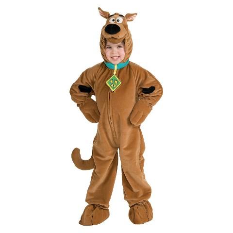 Kid's Scooby Doo Super Deluxe Costume