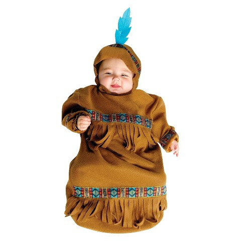 Infant Papoose Bunting Costume 0-9 Months
