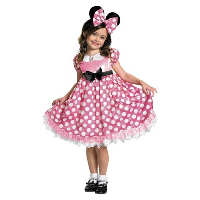 Toddler/Girl's Minnie Mouse Glow in the Dark Costume