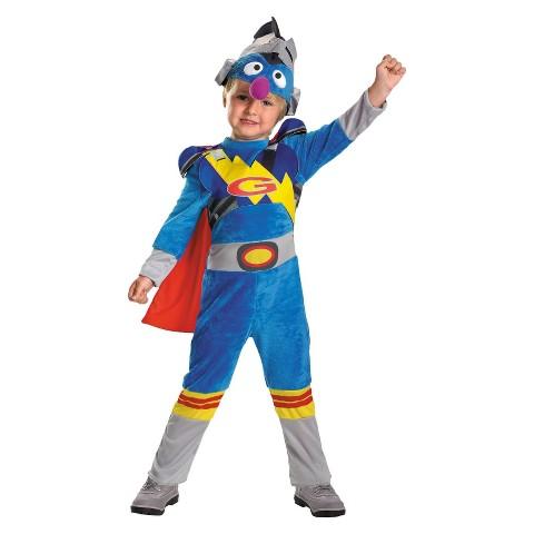 Sesame Street Toddler Super Grover 2.0 Costume